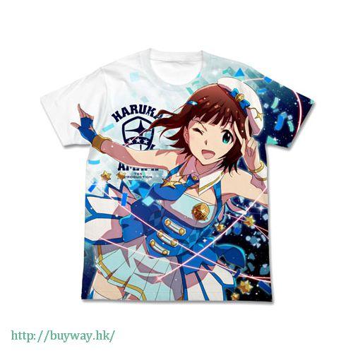 偶像大師 白金星光 (加大)「天海春香」特裝 Ver. 白色 T-Shirt Haruka Amami Special Package Ver. Full Graphic T-Shirt / WHITE - XL【The Idolm@ster Platinum Stars】
