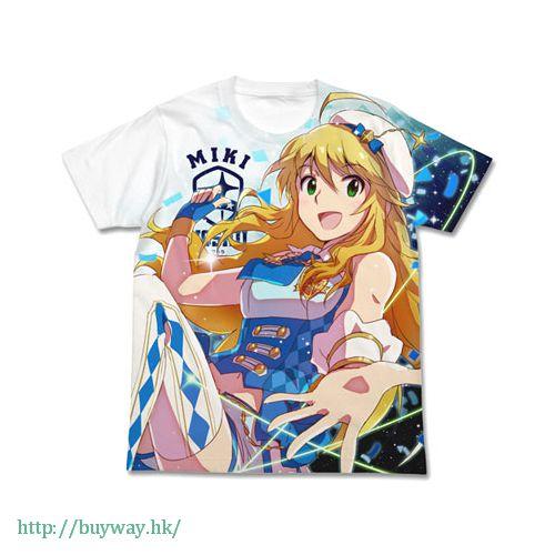 偶像大師 白金星光 (加大)「星井美希」特裝 Ver. 白色 T-Shirt Miki Hoshii Special Package Ver. Full Graphic T-Shirt / WHITE - XL【The Idolm@ster Platinum Stars】