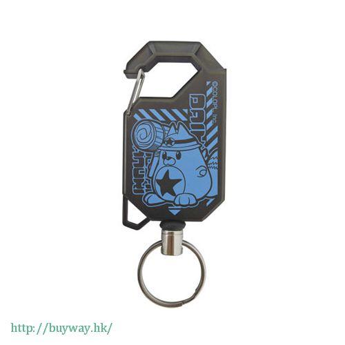 白貓Project 「大工星狸貓」伸縮匙扣 Reel Keychain Daikusei Tanuki【Shironeko Project】