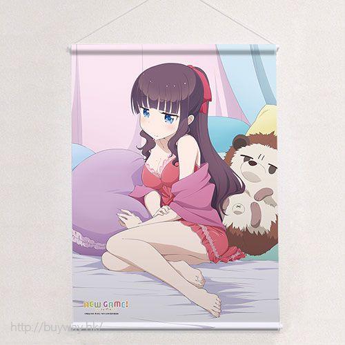 New Game! 「瀧本日富美」原作插圖 B2 掛布 Original Illustration B2 Tapestry Takimoto Hifumi【New Game!】