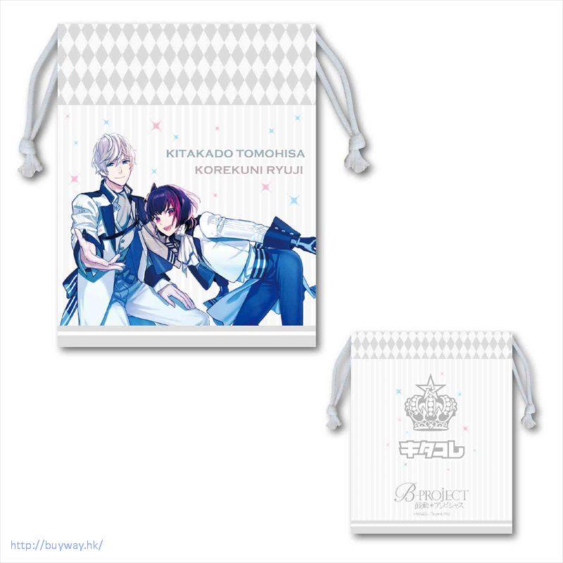 BPROJECT 「北門倫毘沙 + 是國龍持」A款 手機袋 Smartphone Kinchaku A【B-PROJECT】