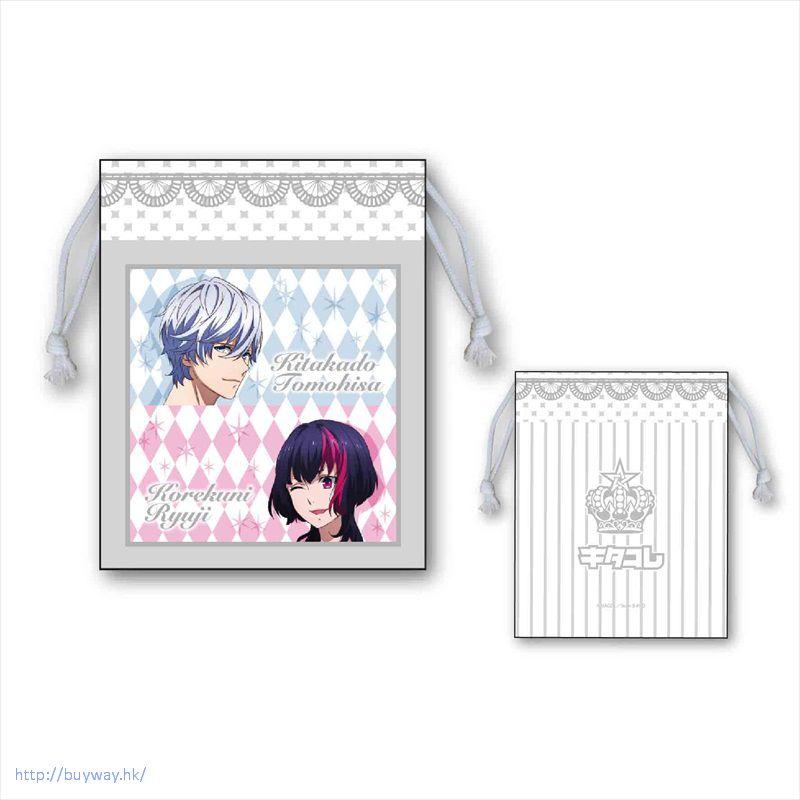 BPROJECT 「北門倫毘沙 + 是國龍持」D款 手機袋 Smartphone Kinchaku D【B-PROJECT】