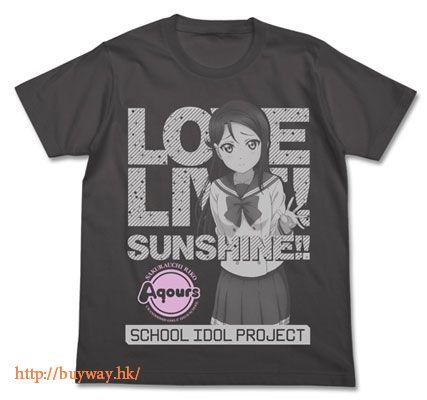 LoveLive! Sunshine!! (加大)「櫻內梨子」T-Shirt 墨黑色 Riko Sakurauchi T-Shirt / SUMI - XL【Love Live! Sunshine!!】