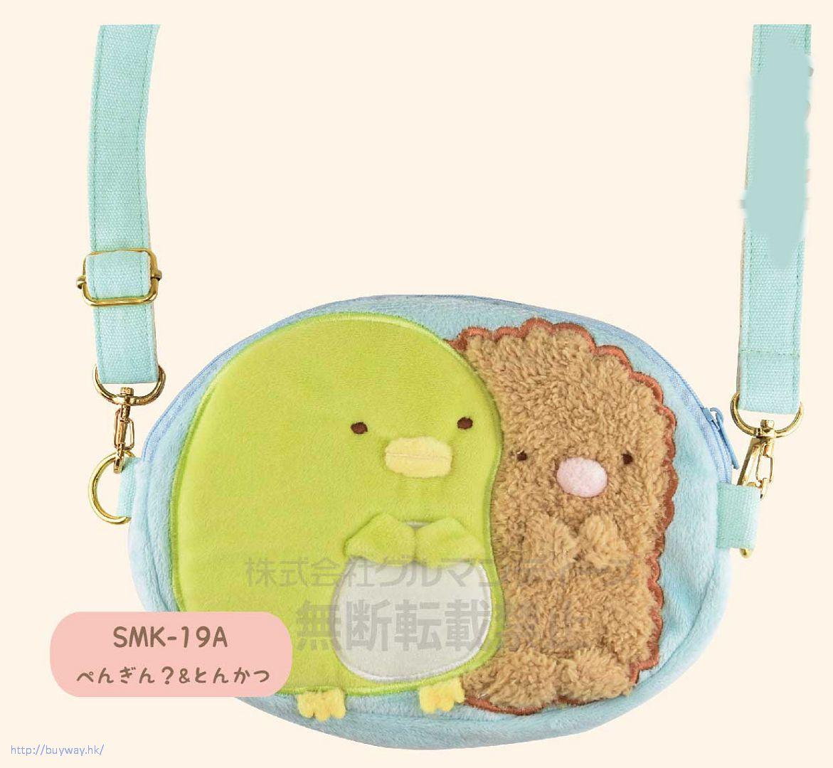 角落生物 「企鵝 + 炸豬排」手機袋 Smartphone Bag Penguin & Tonkatsu SMK-19A【Sumikko Gurashi】