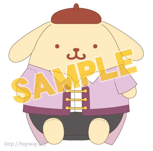 勇利!!! on ICE 「布丁狗 / 布甸狗」30cm L 毛公仔 Yuri on Ice×Sanrio characters Plush Doll L Pom Pom Purin【Yuri on Ice】