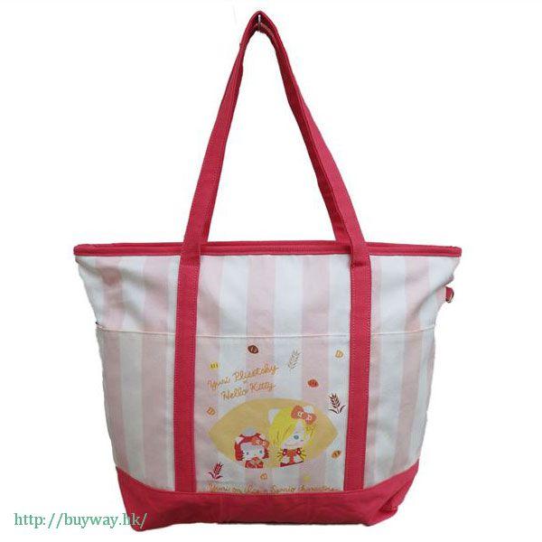 勇利!!! on ICE 「尤里 + Hello Kitty」大布袋 Yuri on Ice×Sanrio characters Big Tote Bag: Yurio & Hello Kitty【Yuri on Ice】