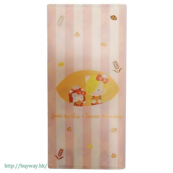勇利!!! on ICE 「尤里 + Hello Kitty」抗菌耐用 票尾收藏小幫手 Yuri on Ice×Sanrio characters Antibacterial Multipurpose Case: Yuri x Hello Kitty【Yuri on Ice】