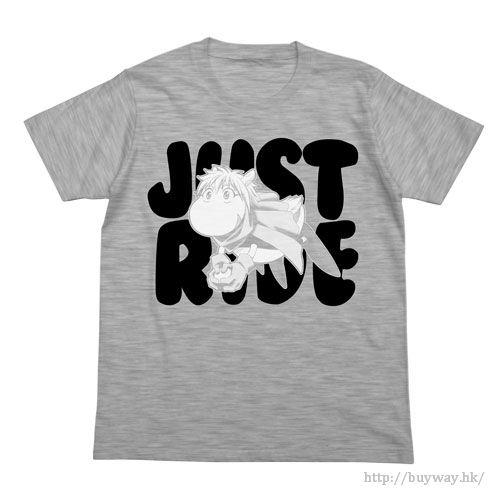 封神演義 (加大)「四不象」灰色 T-Shirt Supushan T-Shirt / HEATHER GRAY-XL【Hoshin Engi】