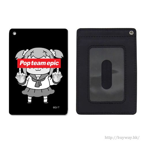 Pop Team Epic 「POP子」例行手勢 全彩 證件套 Pop Team Epic no Gyouretsu ga Dekiru Full Color Pass Case【Pop Team Epic】