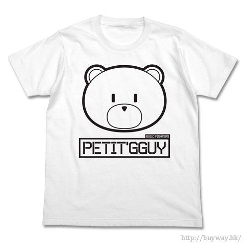 機動戰士高達系列 (細碼)「Petit'GGuy」白色 T-Shirt Petit'GGuy T-Shirt / WHITE-S【Mobile Suit Gundam Series】