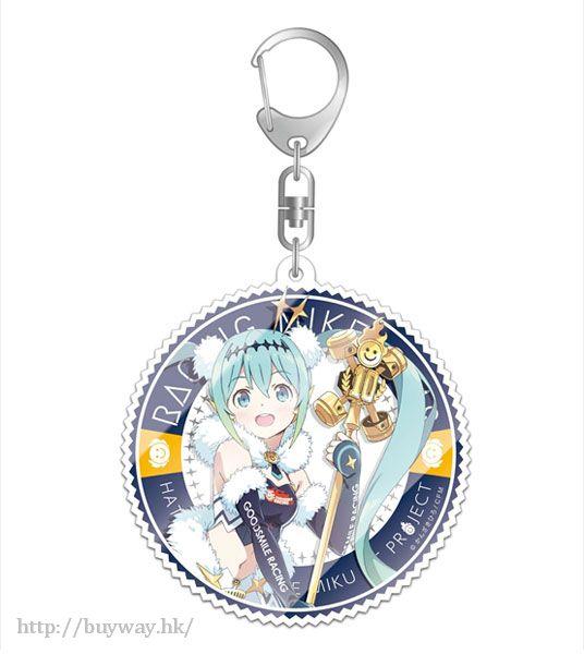VOCALOID 系列 「初音未來」1 亞克力匙扣 GT Project Hatsune Miku Racing Ver. 2018 Hatsune Miku GT Project Hatsune Miku Racing Ver. 2018 Deka Acrylic Key Chain 1【VOCALOID Series】