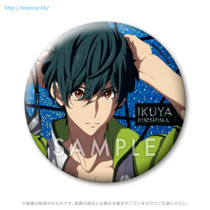 Free! 熱血自由式 「桐嶋郁彌」76mm 徽章 Clear Blue-Deep Spirit- Hologram Can Badge Clear Blue-Deep Spirit- Kirishima Ikuya【Free!】