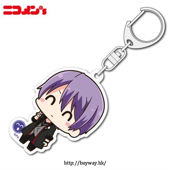 TSUKIPRO 「篁志季」笑盈盈系列 亞克力匙扣 Nikomens Acrylic Key Chain Takamura Shiki【TSUKINO Talent Production】