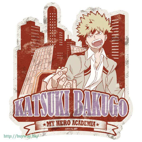 我的英雄學院 「爆豪勝己」行李箱 貼紙 Travel Sticker 2 Bakugo Katsuki【My Hero Academia】