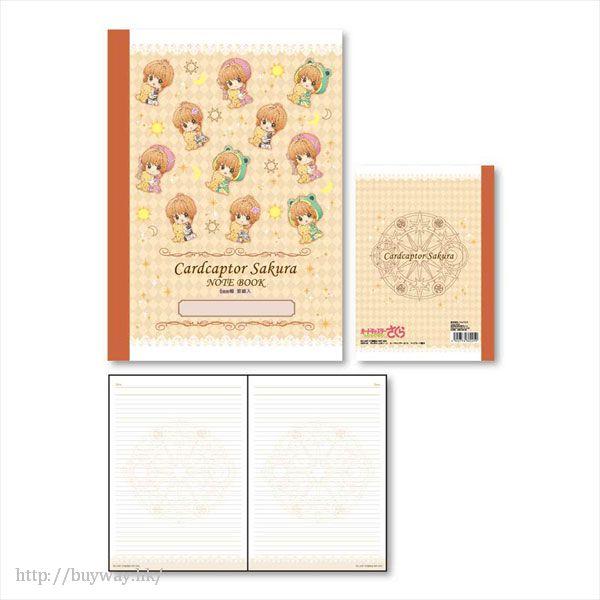 百變小櫻 Magic 咭 「木之本櫻」戰鬥服 B5 單行簿 GyuGyutto B5 Notebook B【Cardcaptor Sakura】