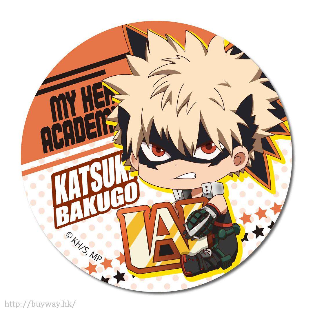 我的英雄學院 「爆豪勝己」戰鬥服 收藏徽章 GyuGyutto Can Badge Bakugo Katsuki【My Hero Academia】