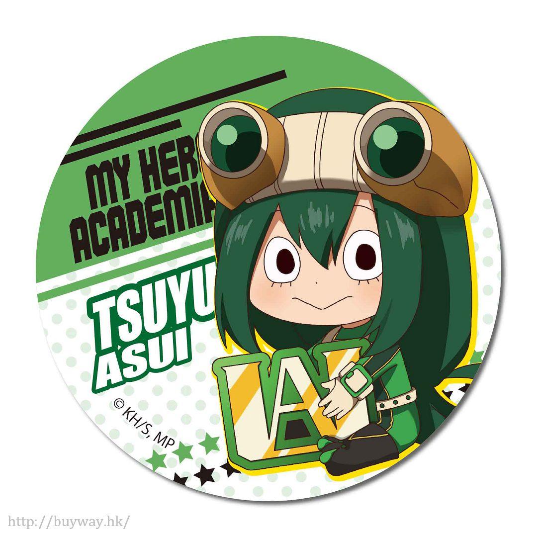 我的英雄學院 「蛙吹梅雨」戰鬥服 收藏徽章 GyuGyutto Can Badge Asui Tsuyu【My Hero Academia】