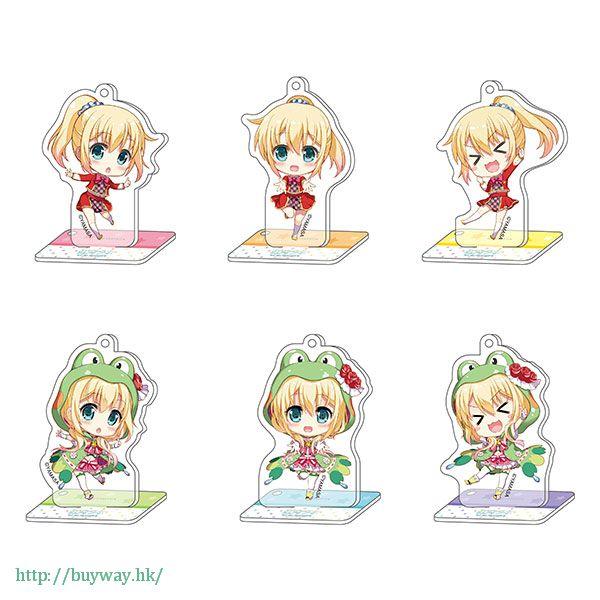 虛擬偶像 「虹河ラキ」亞克力企牌 / 匙扣 (6 個入 Nijikawa Laki Station Acrylic Key Chain with Stand Collection (6 Pieces)【Virtual YouTuber】