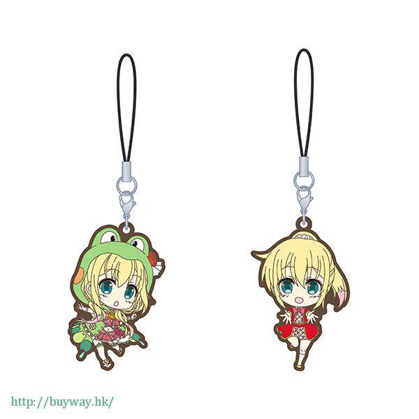虛擬偶像 「虹河ラキ」橡膠掛飾 (2 個入) Nijikawa Laki Station Rubber Strap Set【Virtual YouTuber】