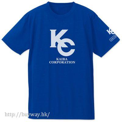 "遊戲王 (加大) ""KC"" 鈷藍色 T-Shirt KC Dry T-Shirt / COBALT BLUE - XL【Yu-Gi-Oh!】"