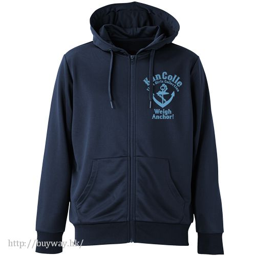 艦隊 Collection -艦Colle- (加大)「提督專用」深藍色 連帽衫 Teitoku Dry Parka / NAVY - XL【Kantai Collection -KanColle-】
