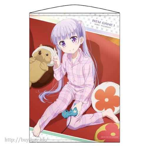 New Game! 「涼風青葉」掛布 Wall Scroll Aoba Suzukane【New Game!】