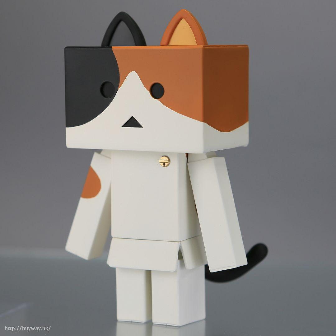 四葉妹妹! 「阿愣貓 Mike」可動 Figure Soft Vinyl Toy Box 006A Nyanboard Mike【Yotsuba&!】