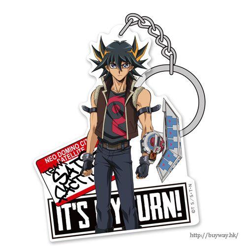 遊戲王 「不動遊星」亞克力匙扣 Acrylic Keychain: Yusei【Yu-Gi-Oh!】