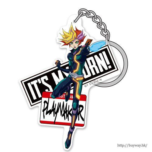 遊戲王 「藤木遊作」亞克力匙扣 Acrylic Keychain Ver.2: Playmaker【Yu-Gi-Oh!】