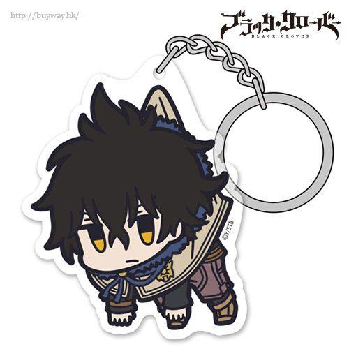 黑色五葉草 「尤諾」吊起匙扣 Acrylic Pinched Keychain: Yuno【Black Clover】