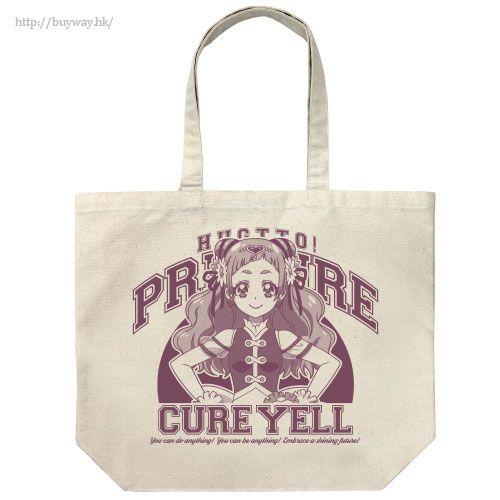 "光之美少女系列 「野乃花」米白 大容量 袋子 ""Cure Yell"" Large Tote Bag / NATURAL【Pretty Cure Series】"