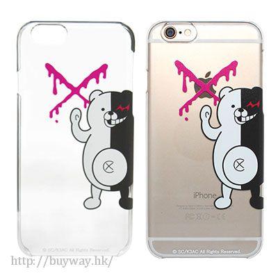 槍彈辯駁 「黑白熊」iPhone 6/6s 手機套 Monokuma Upupu iPhone Cover for 6/6s【Danganronpa】