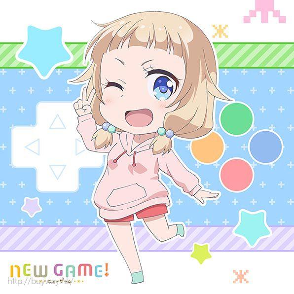 New Game! 「櫻寧寧」小手帕 Mofu Mofu Mini Towel Sakura Nene【New Game!】