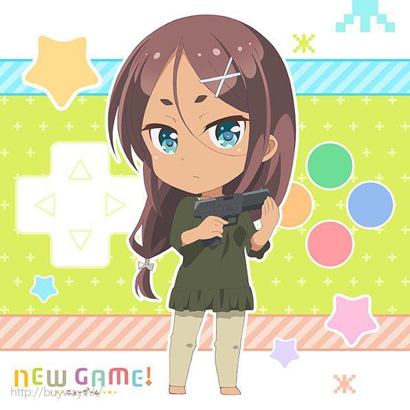New Game! 「阿波根うみこ」小手帕 Mofu Mofu Mini Towel Ahagon Umiko【New Game!】