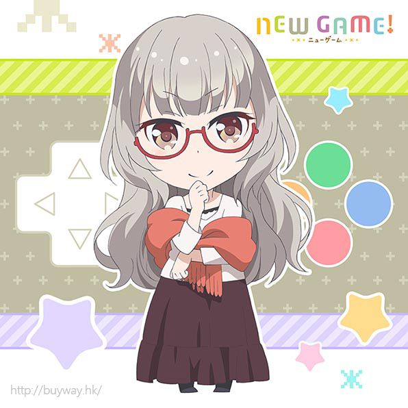 New Game! 「葉月雫」小手帕 Mofu Mofu Mini Towel Haduki Shizuku【New Game!】
