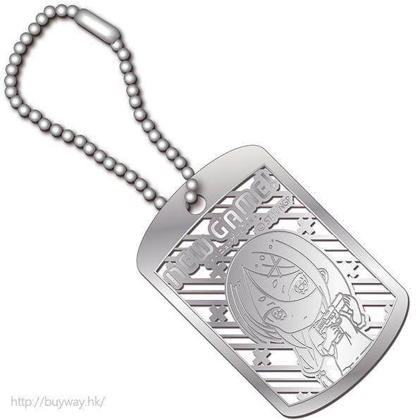 New Game! (2 枚入)「阿波根うみこ」金屬掛牌 (2 Pieces) Metal Art Dog Tag Ahagon Umiko【New Game!】