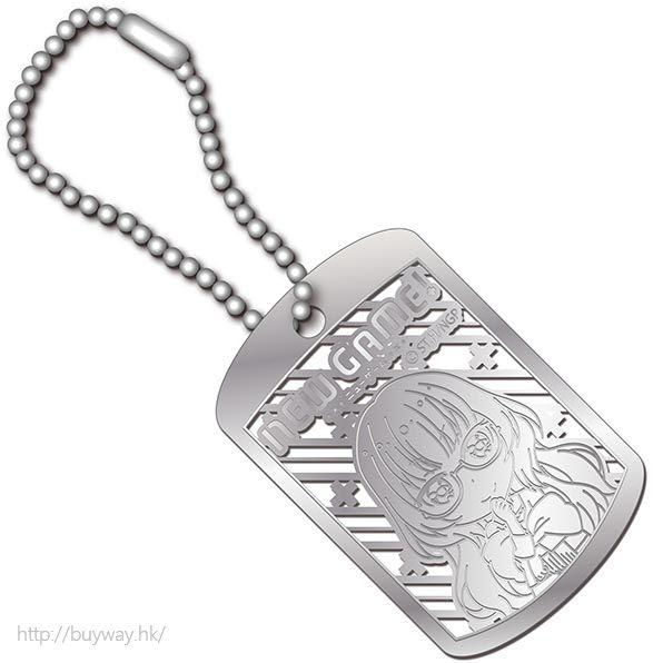 New Game! (2 枚入)「葉月雫」金屬掛牌 (2 Pieces) Metal Art Dog Tag Haduki Shizuku【New Game!】