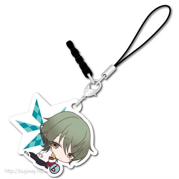 月歌。 (3 枚入)「水無月淚 (6月)」可愛抱膝橡膠掛飾 (3 Pieces) Bocchi-kun Acrylic Charm Minaduki Rui【Tsukiuta.】
