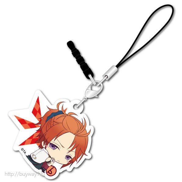 月歌。 (3 枚入)「葉月陽 (8月)」可愛抱膝橡膠掛飾 (3 Pieces) Bocchi-kun Acrylic Charm Haduki You【Tsukiuta.】