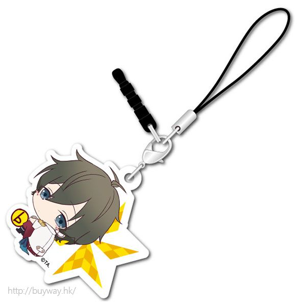 月歌。 (3 枚入)「長月夜 (9月)」可愛抱膝橡膠掛飾 (3 Pieces) Bocchi-kun Acrylic Charm Nagatsuki Yoru【Tsukiuta.】