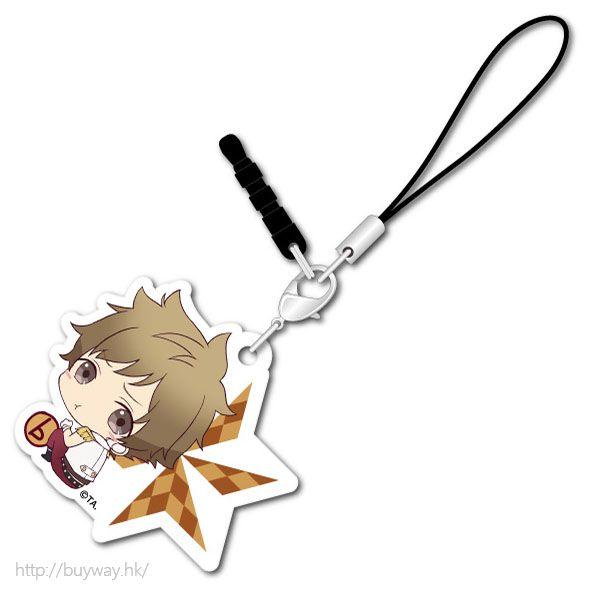 月歌。 (3 枚入)「神無月郁 (10月)」可愛抱膝橡膠掛飾 (3 Pieces) Bocchi-kun Acrylic Charm Kannaduki Iku【Tsukiuta.】