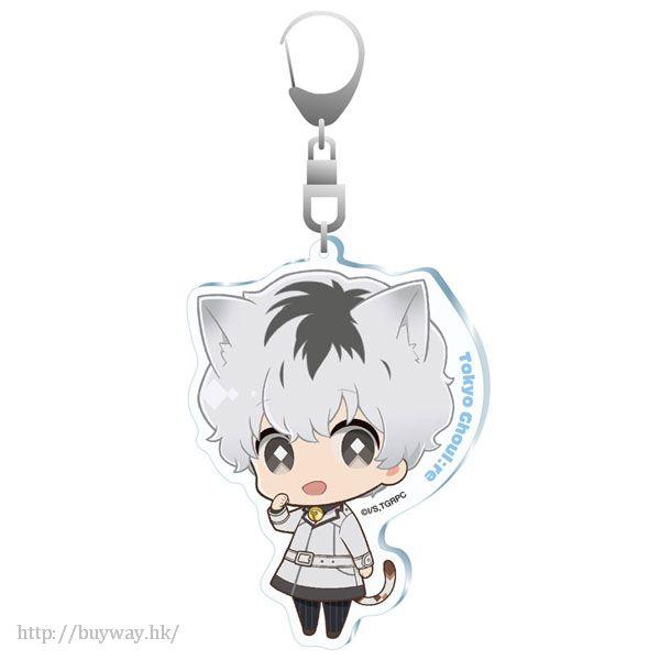 東京喰種 「佐佐木琲世」Quinx 貓咪亞克力匙扣 Quinx Neko no Hi Acrylic Key Chain Sasaki Haise【Tokyo Ghoul】