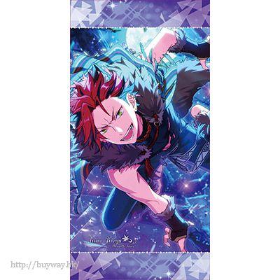 合奏明星 「鬼龍紅郎」大毛巾 Vol.3 Visual Bath Towel Vol.3 6. Kuro Kiryu【Ensemble Stars!】