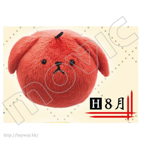 月歌。 「葉月陽 (8月)」肥兔手機掛飾 Rabbit Cute Strap Haduki You【Tsukiuta.】