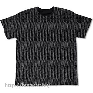 Item-ya (加大)「チェインメイル!!」黑色 T-Shirt Chain Mail T-Shirt / Black-XL【Item-ya】