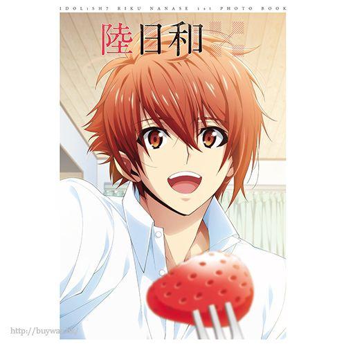 IDOLiSH7 「七瀨陸」1st Photo book 陸日和 (小冊子 + 匙扣 + 海報) Nanase Riku 1st Photo Book Riku Biyori (Book)【IDOLiSH7】