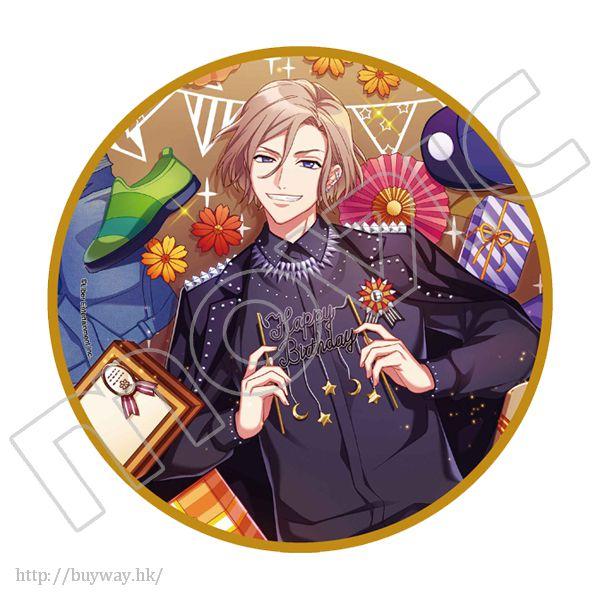 A3! 「摂津萬里」生日快樂 15cm 大徽章 Happy Birthday Big Can Badge Banri Settsu【A3!】