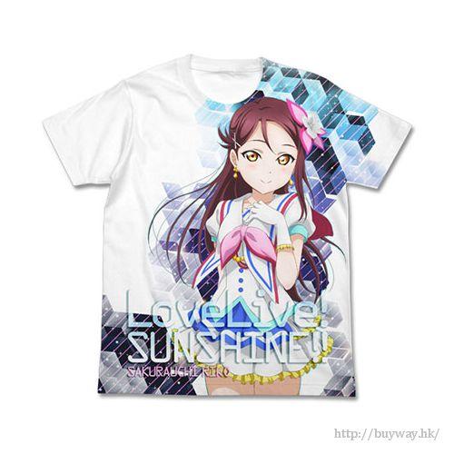 LoveLive! Sunshine!! (中碼)「櫻內梨子」白色 全彩 T-Shirt Riko Sakurauchi Full Graphic T-Shirt / White - M【Love Live! Sunshine!!】