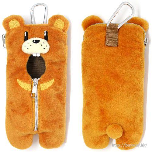 New Game! 熊睡袋 手機掛袋 Smartphone Pouch Kuma-san Sleeping Bag【New Game!】