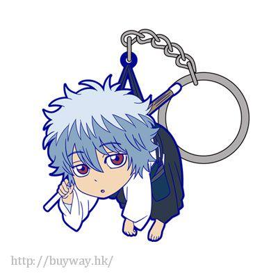 銀魂 「坂田銀時」幼少期 吊起匙扣 Pinched Keychain: Gintoki Sakata Child【Gin Tama】